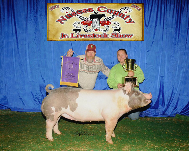 Grand Champion Market Hog